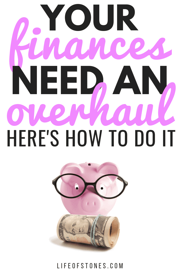 If your finances need an overhaul, check out this post! These amazing tips showed me what I really need to focus on to fix my finances! These money tips will help you get back on track, out of debt and on your way to financial success! #lifeofstones #moneytips #finance #budgetingtips