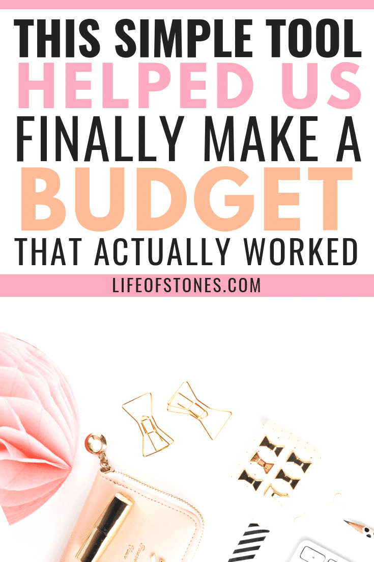 Learn how to budget better with a budget binder! This budget binder helped us organize our finances, save money and get out of debt! We finally created a monthly budget using this budget planner that we could actually stick to! #budgetbinder #budgetplanner #budgeting #lifeofstones
